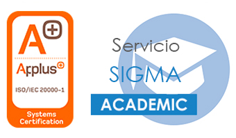 ISO 20000 Certification - Service Management System for SIGMA Academic