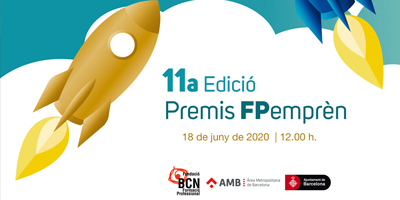 We collaborate in the 11th edition of the FPemprèn Awards